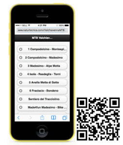 Valchiavenna mtb qrcode mobile html 5