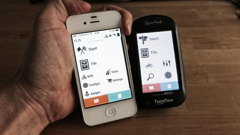 gps smartphone naturtecnica