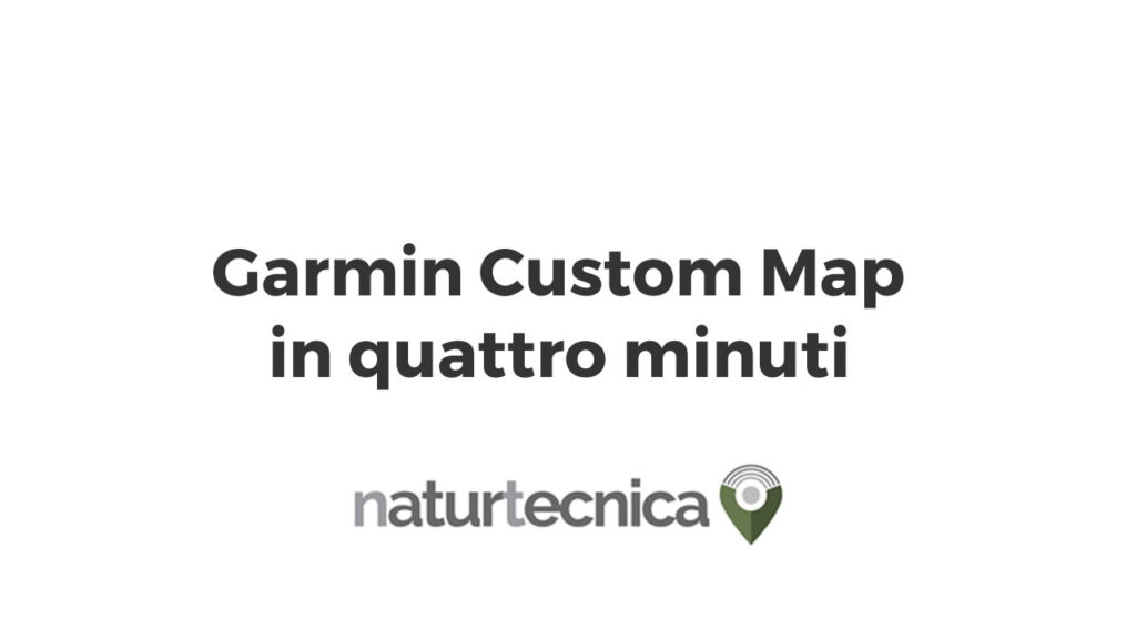 Garmin custom map
