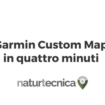 Garmin Custom Map in 4 minuti