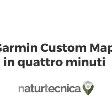 Garmin Custom Map in 4 minuti