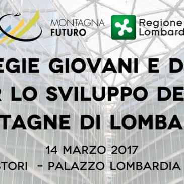 Montagna Futuro: convegno del 14 marzo 2017
