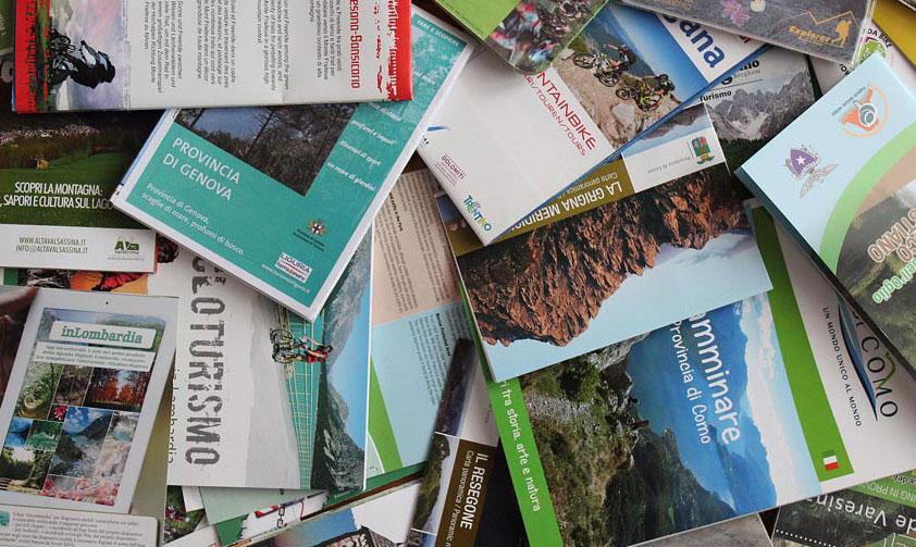 carte depliant brochure opuscoli