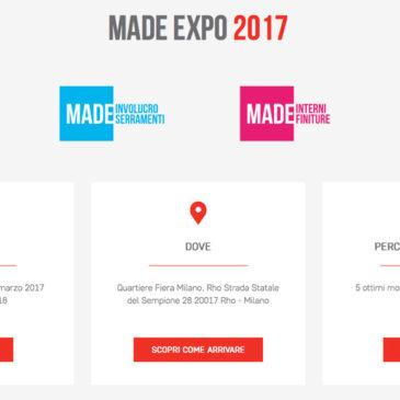 Made Expo 2017: innovazione e progetto